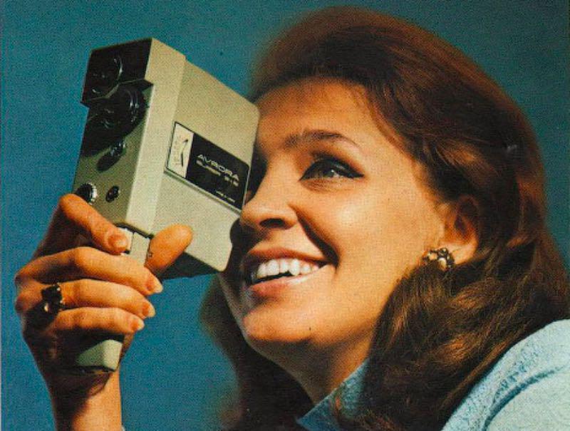 Одна из первых любительских кинокамер — «Аврора»