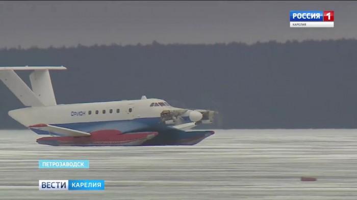 В России возобновились испытания экранопланов