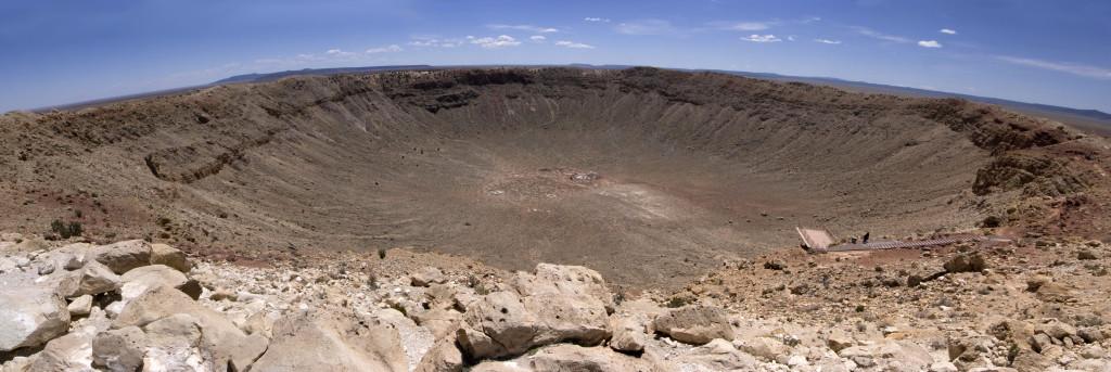 Правая часть кратера