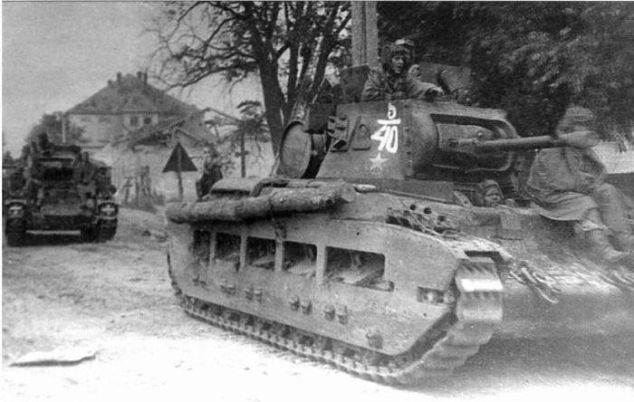 Интервью советского танкиста, воевавшего на танках союзников