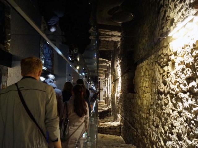 Краковский подземный археологический музей