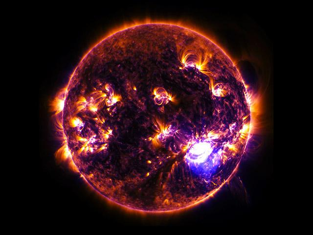 Как бы выглядел мир, если бы мы видели все виды электромагнитного излучения?
