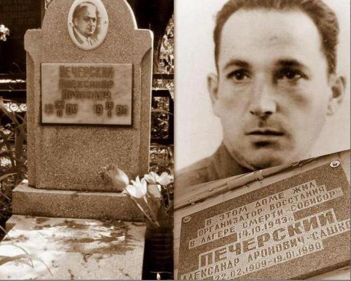 Офицер Красной армии Александр Печёрский: биография. Подвиг Александра Печёрского: бунт в Собиборе