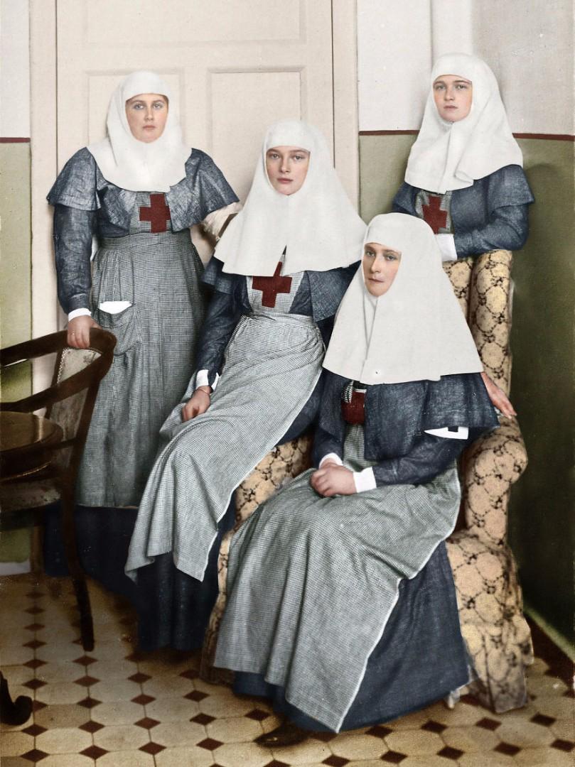 Россия ХХ века в цвете
