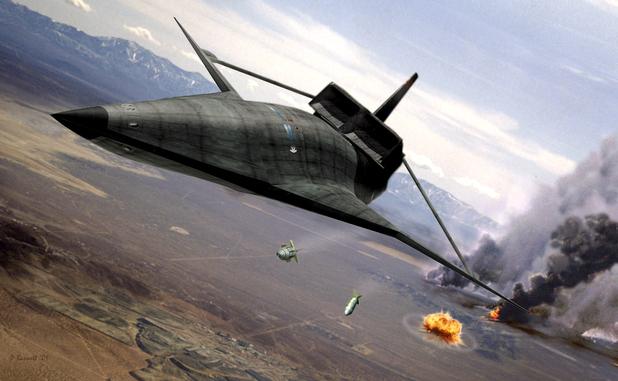 США впервые испытали сверхсекретный гиперзвуковой самолёт, предназначенный для нанесения глобального удара