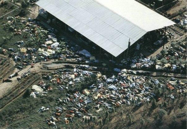 Расстрел коммуны Джорджтауна: американская технология лжи и убийств
