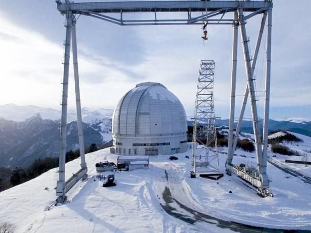 В КЧР привезли зеркало для самого большого в Европе телескопа