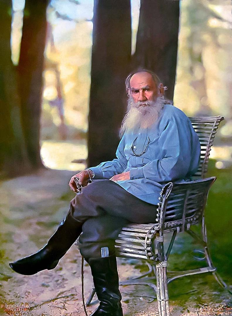 Портрет Льва Николаевича Толстого, 1908 год
