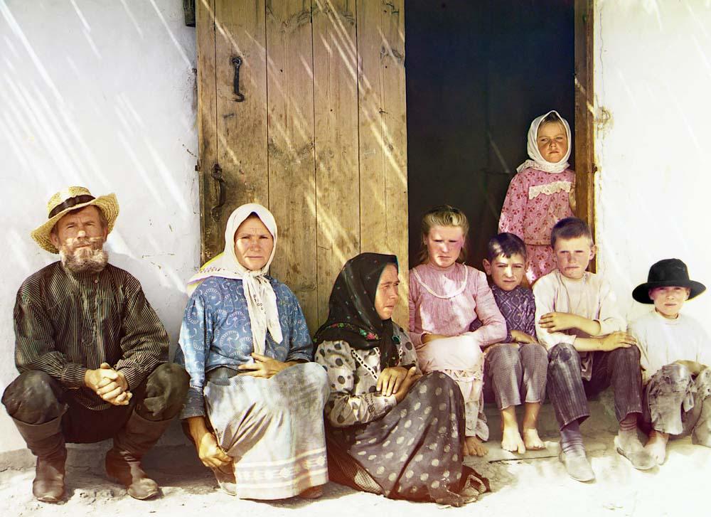 Мугань. Семья поселенца, предположительно 1912 год