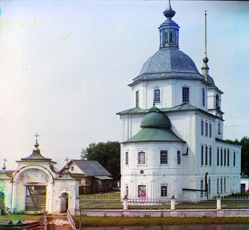 Церковь во имя Рождества Христова в Крохине, 1909 год