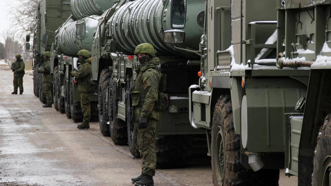 Дивизион зенитной ракетной системы (ЗРС) С-400