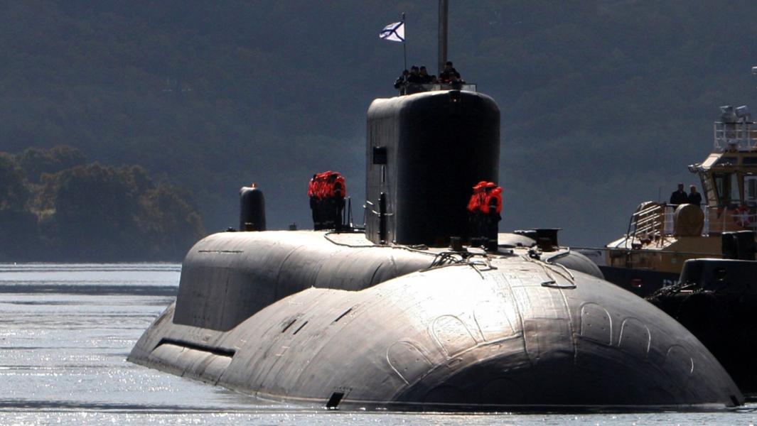 Российская атомная подводная лодка стратегического назначения проекта 955