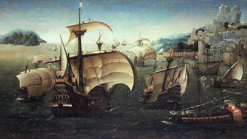 Португальские корабли XVI века