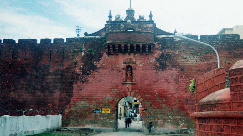 Крепость города Диу