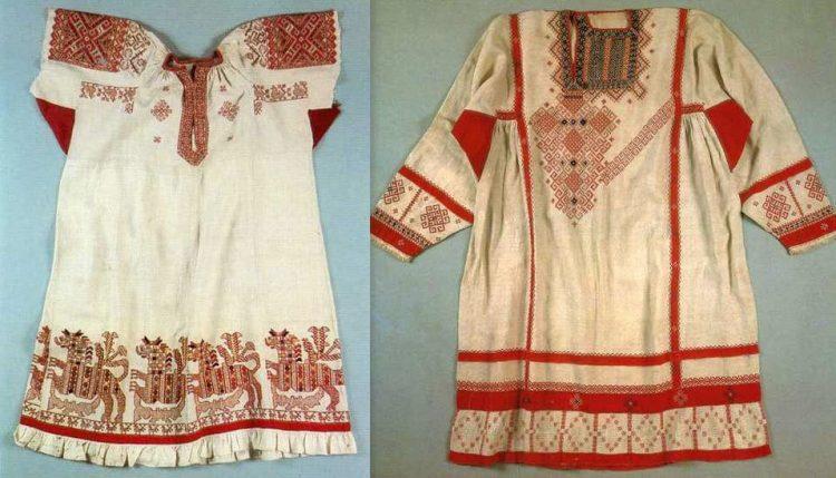 Славянские узоры на одежде