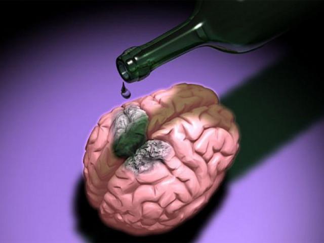 При сотрясение мозга употребляет алкоголь