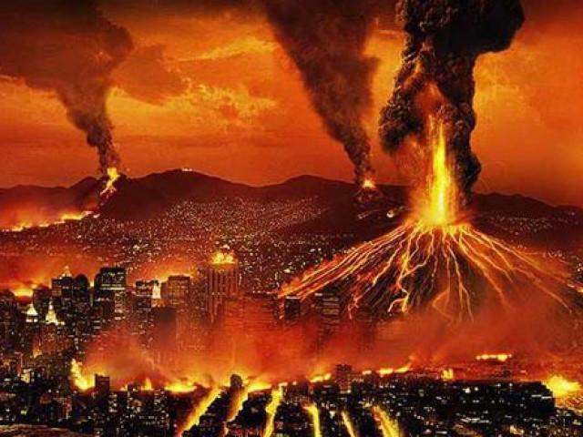 Как раз в эти дни, по взбудоражившим общество прогнозам, должен начать извергаться йеллоустонский вулкан